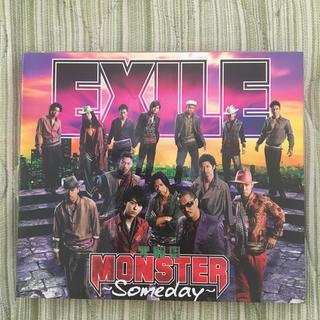 エグザイル(EXILE)のTHE MONSTER 〜Someday〜(CD+DVD)(ポップス/ロック(邦楽))