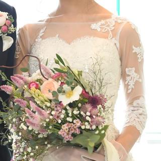 グレースコンチネンタル(GRACE CONTINENTAL)のウェディングドレス ボレロ Garden of Grace 結婚式(ウェディングドレス)
