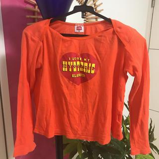 ヒステリックグラマー(HYSTERIC GLAMOUR)のヒスミニニット トップス  130サイズ(Tシャツ/カットソー)