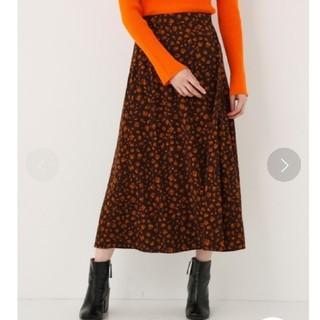 スライ(SLY)のスライ レオパード柄スカート(ロングスカート)