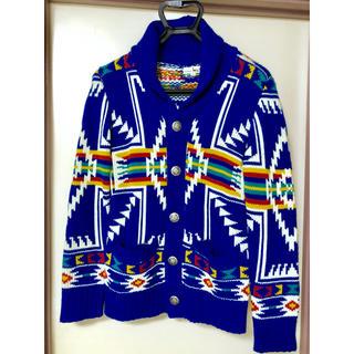チチカカ(titicaca)のチチカカ オルテガ カーディガン チマヨ 民族 ニット コンチョ(カーディガン)