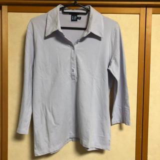 ギャップ(GAP)のGAP七分袖ポロシャツ(ポロシャツ)