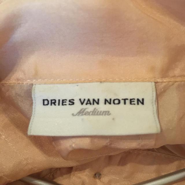 DRIES VAN NOTEN(ドリスヴァンノッテン)のDRIES VAN NOTEN  ブラウス レディースのトップス(シャツ/ブラウス(長袖/七分))の商品写真
