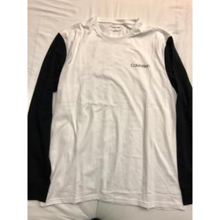 カルバンクライン(Calvin Klein)のカルバンクライン 長袖 Tシャツ Calvin Klein  L(Tシャツ/カットソー(七分/長袖))