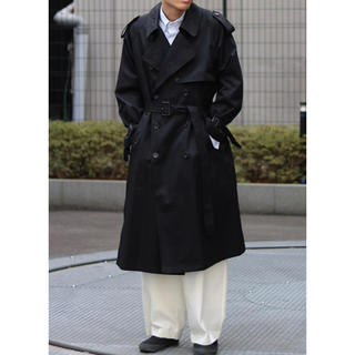 SUNSEA - 19ss stein LAY OVER SIZED  TRENCH  COAT
