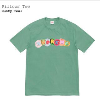 シュプリーム(Supreme)のSupreme pillows tee dusty teal M(Tシャツ/カットソー(半袖/袖なし))