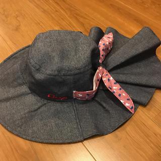 ヒロシマトウヨウカープ(広島東洋カープ)のCarp♡ハット ギャザー 日除け 帽子 野球 応援 キャップ(ハット)