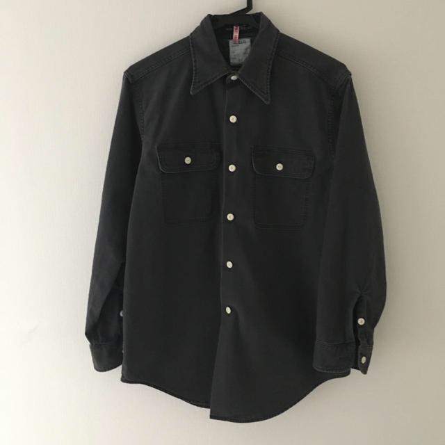 MADISONBLUE(マディソンブルー)の美品 MADISONBLUE HAMPTON バックサテンシャツ  ハンプトン  レディースのトップス(シャツ/ブラウス(長袖/七分))の商品写真