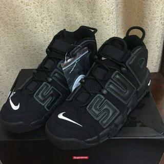 SUPREME × NIKE AIR MORE UPTEMPO(スニーカー)