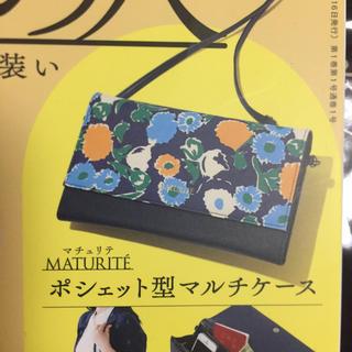 宝島社 - 素敵なあの人 創刊号付録 マチュリテマルチケース