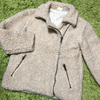 ZaraGirls♡ボアジャケット アウター コート 防寒 ダウンがわりに