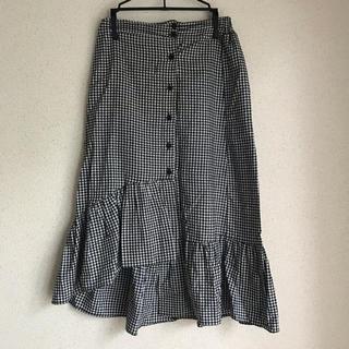 GOGOSING - ギンガムチェック マーメイドスカート