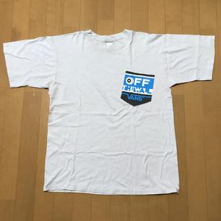 ヴァンズ(VANS)のVANS ポケT L  USA製(Tシャツ/カットソー(半袖/袖なし))
