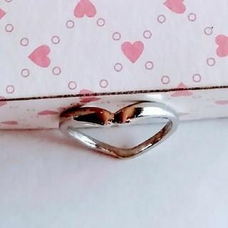 シンプル 指輪 リング アクセサリー シルバー 銀(リング(指輪))