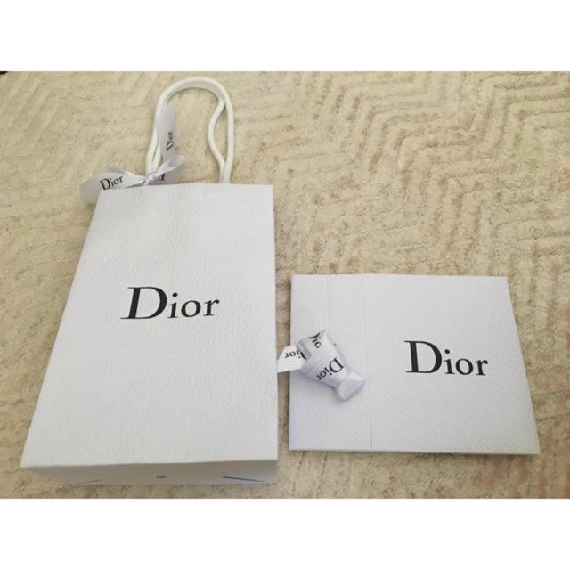 Dior(ディオール)のdior ラッピングセット インテリア/住まい/日用品のオフィス用品(ラッピング/包装)の商品写真