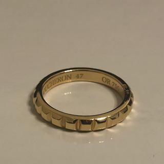 ブシュロン(BOUCHERON)の美品ブシュロン クルド パリ リング 指輪 ディアマン K18YG(リング(指輪))