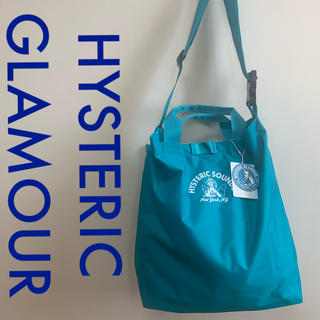 HYSTERIC GLAMOUR - HYSTERIC GLAMOUR  トートバッグ  ターコイズ