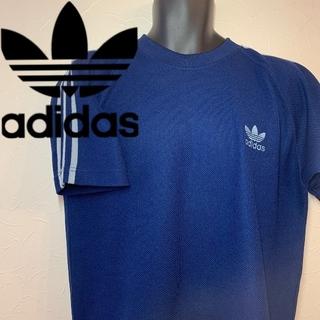 adidas - アディダス 三本ラインTシャツ