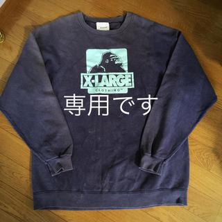 XLARGE - us古着   X-LARGE トレーナー
