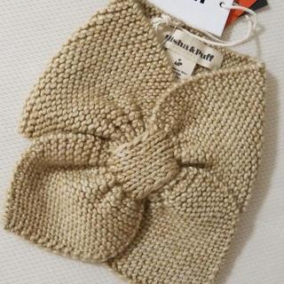 キャラメルベビー&チャイルド(Caramel baby&child )のMISHA & PUFF♡Sledding scarf(Alabaster)(マフラー/ストール)