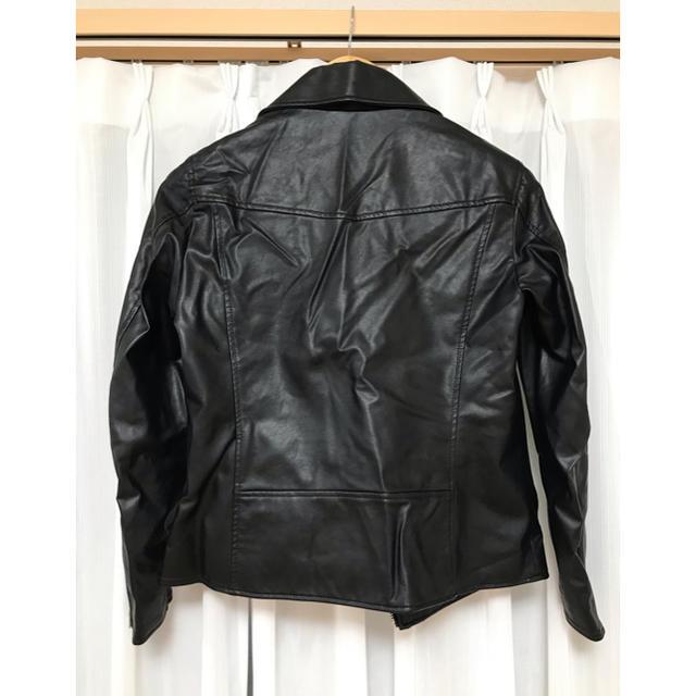 UNIQLO(ユニクロ)のライダースジャケット レディースのジャケット/アウター(ライダースジャケット)の商品写真