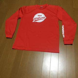 ウィルソン(wilson)のテニスウェア Wilson100周年限定Tシャツ(ウェア)