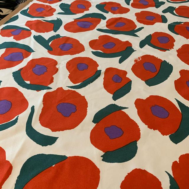 marimekko(マリメッコ)のマリメッコ marimekko 洋服生地はぎれ ハンドメイドの素材/材料(生地/糸)の商品写真