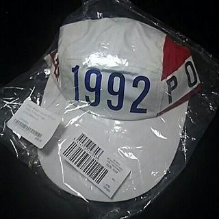 ポロラルフローレン(POLO RALPH LAUREN)のPOLO 1992  Stadium Long Bill  Cap 復刻(キャップ)