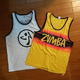 Zumba - ZUMBAズンバ タンクトップL 2枚組