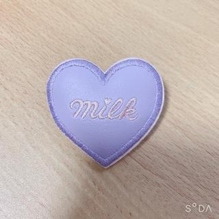 ミルク(MILK)のMILK♪ハートバレッタ(ラベンダー)(バレッタ/ヘアクリップ)