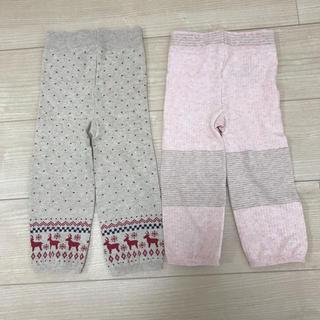 ムジルシリョウヒン(MUJI (無印良品))の無印 ニットパンツ2枚セット(パンツ)