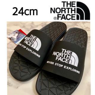 THE NORTH FACE - 新品 ☆ 日本未入荷. ザ ノースフェイス サンダル 24cm ブラック