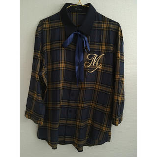 milkboy CHECKERS M SHIRTS リボンシャツ
