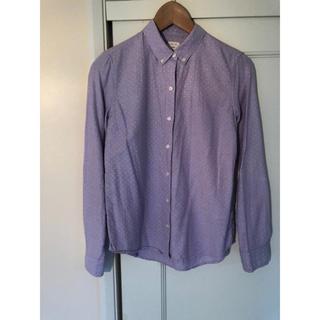 ギャップ(GAP)のGAP 長袖ボタンダウンシャツ XXS(シャツ/ブラウス(長袖/七分))