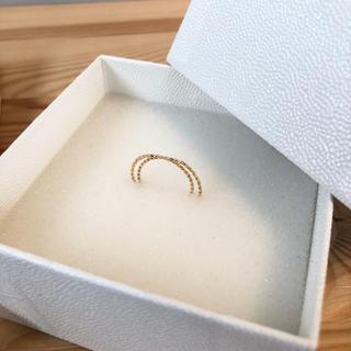 ユナイテッドアローズ(UNITED ARROWS)の特別sale UNITED ARROWS 新品未使用 ダブルゴールドリング(リング(指輪))