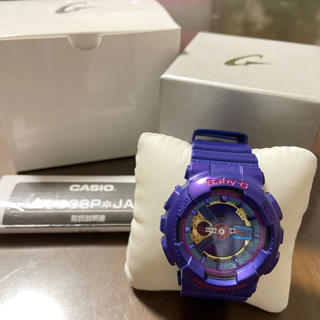 ベビージー(Baby-G)のBaby G 腕時計(紫)(腕時計)