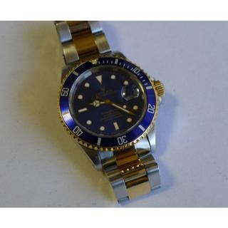 ロレックス(ROLEX)のROLEX / ロレックス・サブマリーナー16613YG/SSコンビ動作良好美品(腕時計(アナログ))