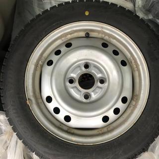 ブリヂストン(BRIDGESTONE)のスタッドレスタイヤ 4本セット ブリジストンVRX2 155/65R14(タイヤ・ホイールセット)