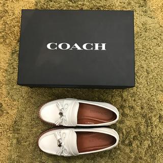 コーチ(COACH)のCOACH ☆ローファー☆5C☆定価52000円☆(ローファー/革靴)