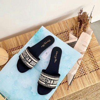 Dior - Dior ディオール ピンヒール スリッパ  美品