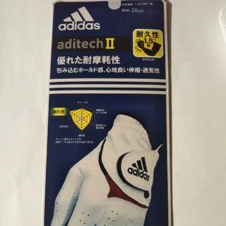 アディダス(adidas)のゴルフグローブ(ゴルフ)