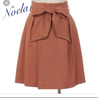 ノエラ(Noela)のリボンベルト付きフレアスカート(ひざ丈スカート)
