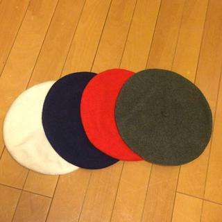 古着 ベレー帽(ハンチング/ベレー帽)
