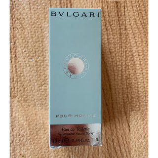 ブルガリ(BVLGARI)のブルガリ香水プールオム10ml(香水(男性用))