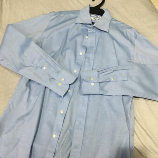 UNIQLO メンズシャツ ブルー 新品