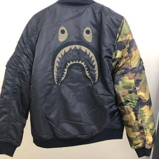 A BATHING APE - Bape x Undefeated MA-1 SHARKJACKET