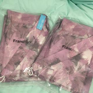 フランフラン(Francfranc)のフランフラン レースカーテン 2枚セット 新品(レースカーテン)