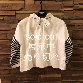 リボンのトップス。 sold out(シャツ/ブラウス(長袖/七分))