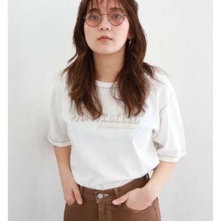 アングリッド(Ungrid)のMONTEBELLプリントTee⭐(Tシャツ(半袖/袖なし))