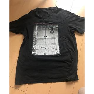 コムサイズム(COMME CA ISM)のメンズ 黒 Tシャツ(Tシャツ/カットソー(半袖/袖なし))